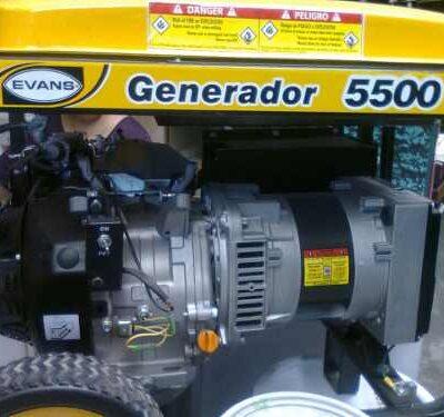 Plantas y Generadores de Luz Marca Evans