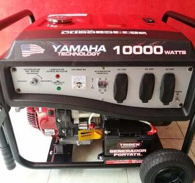 Plantas y Generadores de Luz Marca Yamahatech10000