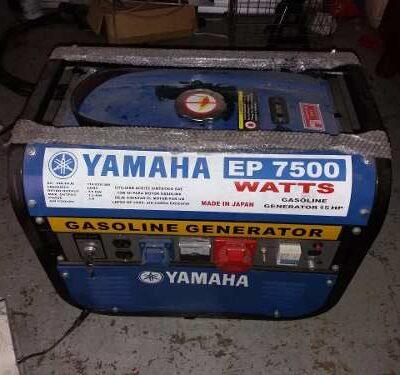 Plantas y Generadores de Luz Marca Yamaha