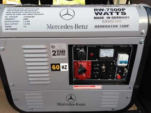 Plantas y Generadores de Luz Marca Mercedes-benz
