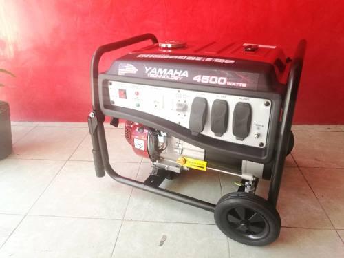 Plantas y Generadores de Luz Marca Yamahatehnology4500
