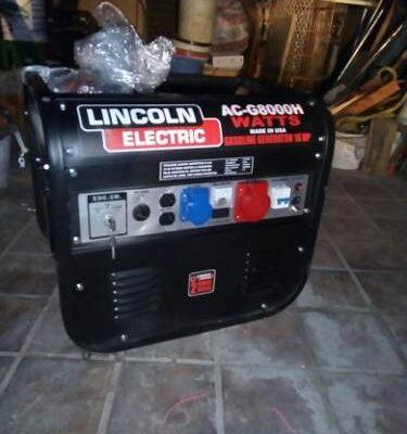 Plantas y Generadores de Luz Marca Lincoln